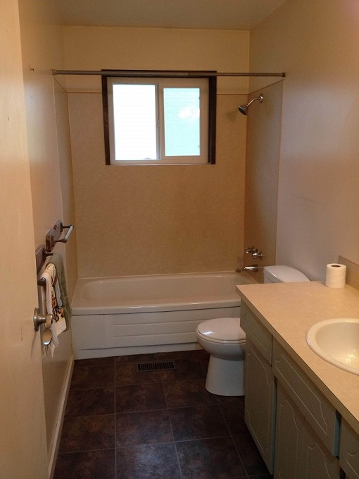 Bathroom before renovation