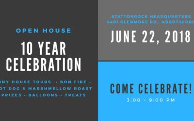 10 Year Celebration – Open House