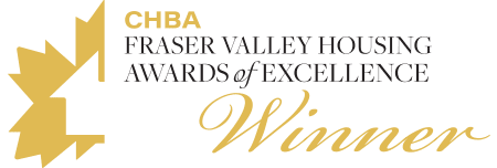 CHBA Fraser Valley Housing Awards of Excellence Winner